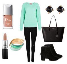 Designer Clothes, Shoes & Bags for Women Irene, Mac Cosmetics, Christian Dior, Boohoo, Steve Madden, Michael Kors, Shoe Bag, Polyvore, Stuff To Buy