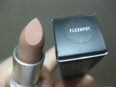 MAC fleshpot Lipstick. perfect nude lip