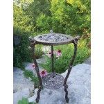 Oakland Living - Frog Table Round Stand Planter - 5078-AB  SPECIAL PRICE: $138.00