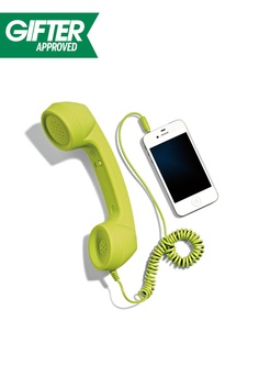 Old school meets new school. Tell us — are you a tech-savvy talker? Tech Gadgets, Cool Gadgets, Your Surprise, Cool Inventions, Marshalls, Perfect For Me, Haha Funny, Landline Phone, Tech Accessories