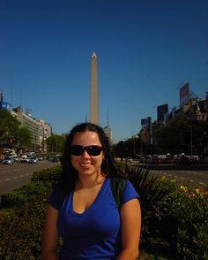 Bom dia sábado! Pra encerrar as recordações da primeira viagem para a Argentina o Obelisco em Buenos Aires. #obelisco #obeliscobuenosaires #buenosaires #argentina #avenida9dejulio #americadosul #mercosul #sulamerica #sudamerica #americadelsur #photooftheday #fun #travelling #tourism #tourist #travel #myworld #ootd
