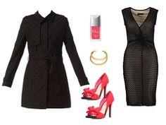 Sleeveless black dress by lydiedy