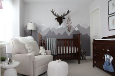 Mountain theme nursery