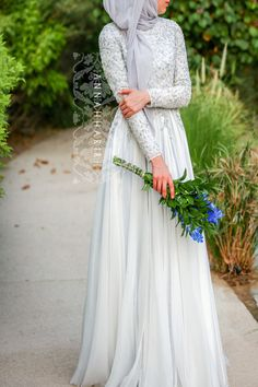 Delphinium Gown