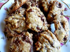 SPLENDID LOW-CARBING BY JENNIFER ELOFF: BANANA CHOCOLATE CHIP COOKIES
