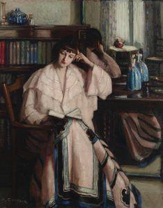 petitpoulailler:  old-world: 1933 Agnes Goodsir (Australian 1864-1939) ~ Chinese Skirt