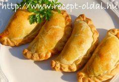 GOMBÁS TÁSKA Hot Dog Buns, Hot Dogs, Baked Potato, Sweet Potato, Gyro Pita, Hungarian Recipes, Hungarian Food, Empanadas, Biscuits