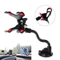 OWNEST Universal Car Mount Holder 360 Rotation Windshield Air Sac Stand for ipad iphone for huawei for xiaomi GPS Mobile Phone