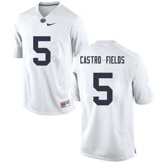 Men  5 Tariq Castro-Fields Penn State Nittany Lions College Football  Jerseys Sale-White 13cef5b52