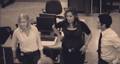 """You have your own little dance you do when the music in the intro comes on. 