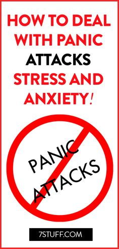 Deal with panic attacks