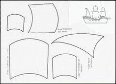 πανιά 001 Boat Crafts, Spring Activities, Blog, Patterns, Plane, Pirates, Summer, Greek, March