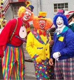 a lot of people don't like clowns, Never understood that???  I have loved and collected clowns for years.