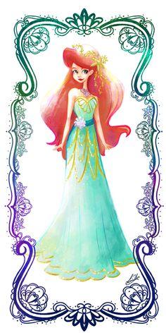Deco Disney: Ariel by Lorraine Yee.
