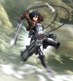 Attack on Titan - Mikasa AckermanDurante la TGS 2015 Koei Tecmo presentó un vídeo sobre el próximo juego de la franquicia Attack on Titan, este para las consolas de Sony.