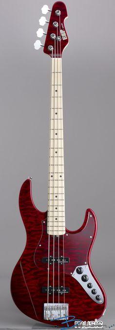 ESP JAPAN AMAZE DELUXE 4STR BASS RED