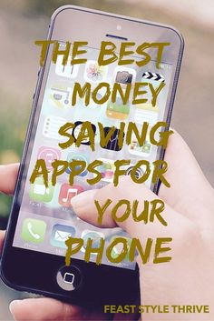 The best phone apps - for saving money