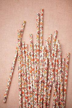 Cute straws!