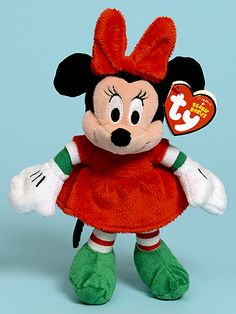 Minnie - mouse - Ty Beanie Babies
