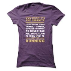 Running God Grant Me T-Shirts, Hoodies. ADD TO CART ==► Funny Tee Shirts