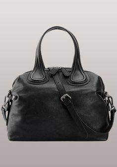 $129 - Givenchy Nightingale Dupe - Giovanna Cowhide Grained Leather Bag Black