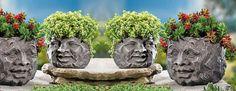 Rock Face Texture Planters