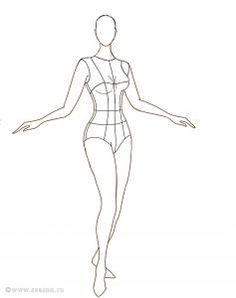 Картинки по запросу женская фигура эскиз