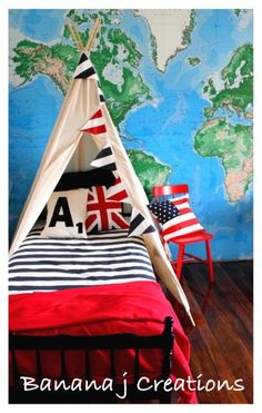 Large Tee Pee or  Bed Tee Pee Canopy BJ