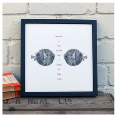 Fish Art Print £15.00