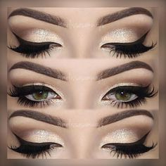 """187 Likes, 3 Comments - Mary 🌹💃🏻💋 (@maryhadalittleglam) on Instagram: """"#Repost @melissasamways♡ ・・・♡ 💋♡ 💋♡ Hey Loves! Champagne Smokey Eye Makeup 😍 TUTORIAL 🎥 Link in my…"""""""