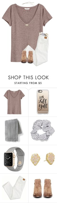 """""""I'm in the mood to play badminton and volleyball """" by mmadss ❤ liked on Polyvore featuring H&M, Casetify, Grandin Road, Topshop, Kendra Scott, American Eagle Outfitters and H by Hudson"""
