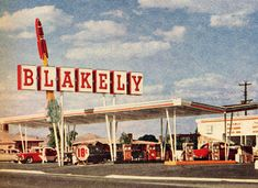 1962 Blakely Gas Station - was at Bethany Home & Black Canyon.