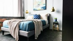 Michael and Carlene's second guest bedroom was consistent with the style of their apartment and the other bedroom.