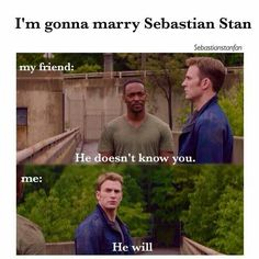 This is so funny because I basically said this exact thing to my mother after I saw him on ouat and the winter soldier