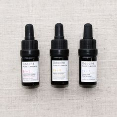 Odacite - Everything from the toners to the face masks in this line are comprised of certified, organic ingredients. Our favorite products are these plant- and fruit-based facial serums.