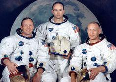 """A 45 años del """"gran salto de la Humanidad"""": Armstrong, Aldrin y Collins llegaban a la Luna"""