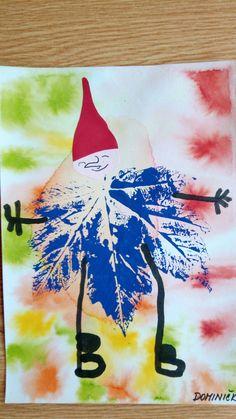 Skřítek Podzimnicek Fall Art Projects, Projects For Kids, Diy For Kids, Christmas Crafts For Toddlers, Toddler Crafts, Crafts For Kids, Autumn Crafts, Autumn Art, Fall Preschool
