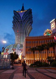 The Grand Lisboa Hotel and Casino in Macau, China