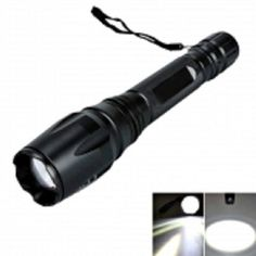CREE XML 5 Mode Focusing LED Flashlight Torch Black -- Check this useful article by going to the link at the image. Camping Lights, Led Flashlight, Lanterns, Outdoor Activities, Ebay, Black, Image Link, Handle, Strong