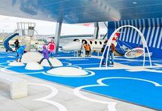 Children area at Zurich airport