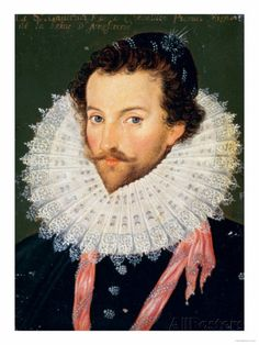 """(1585) During the atlantic exploration, Sir Walter Raleigh established a colony which later became the """"Lost Colony"""" in North Carolina."""