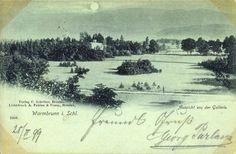 Park Zdrojowy w Cieplicach z 1899 roku.