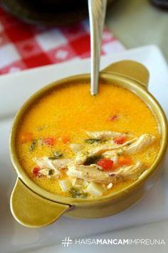 ciorba radauteana Easy Soup Recipes, Supper Recipes, My Recipes, Cooking Recipes, Favorite Recipes, Romania Food, Yummy Food, Tasty, Soul Food