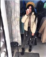 Pocketed Puffer Jacket – Hopikas Puffer Jackets, Winter Jackets, Color Khaki, Baby Strollers, Plush, Coats, Zipper, Pocket, Long Sleeve