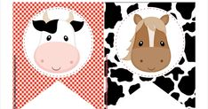 Mamá Decoradora te trae este hermoso kit imprimible de la granja gratis, con todo lo necesario para que tu misma puedas armar un cumpleaños... Farm Animal Party, Farm Animal Birthday, Cowboy Birthday, Farm Birthday, Birthday Party Invitations Free, Birthday Clips, Party Fiesta, Farm Kids, Party Printables