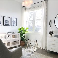 NURSERY / / You spend a lot of time in your baby's room, so try to make it a calm, stylish space you want to be AND baby can sleep and play…