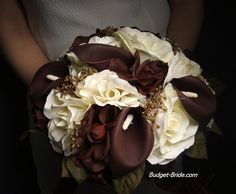 brown and blue wedding bouquets | Brown Wedding Flowers | Nice Wedding Gallery