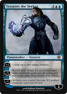 Tezzeret the Seeker | Magic: The Gathering Card