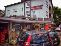 Tante Emma  #Esslingen #Stuttgart #Germany #street #city #carporn #instacar #cargram #outdoors #town #road #house #stock #travel #traveling #visiting #instatravel #instago #tourism #architecture #accident #urban #people #market #building #tourist #daylight #commerce