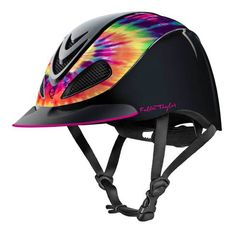 Fallon Taylor Tie Dye Troxel Helmet - For a summer job!